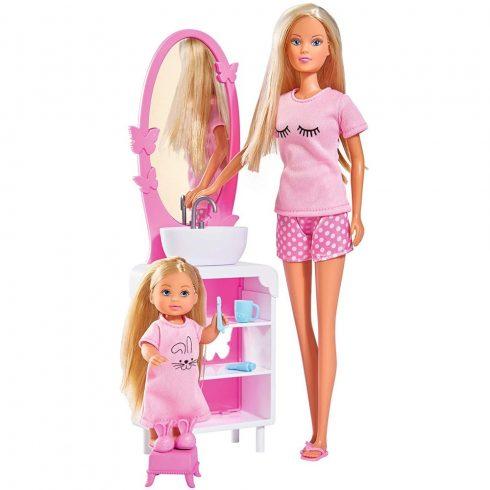 Simba Toys Steffi Love - Steffi és Evi baba lefekvéshez készülődik (105733198)