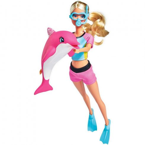 Simba Toys Steffi Love - Búvár Steffi baba delfinnel (105733201)