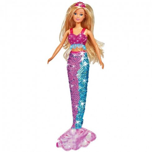 Steffi Love - Flitteres sellő barbie baba (105733330)
