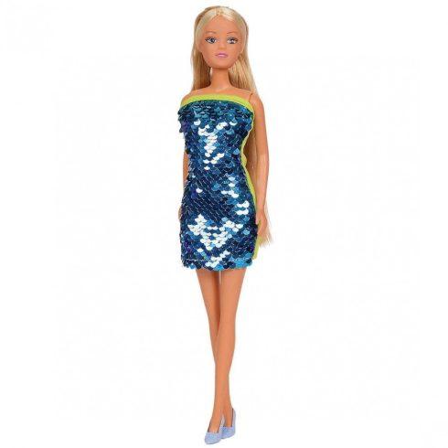 Steffi Love - Steffi barbie baba kék színű flitteres ruhában (105733366)