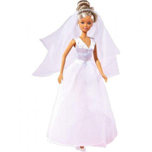 Simba Toys Steffi Love - Steffi baba tüllszoknyás esküvői ruhában (105733414)