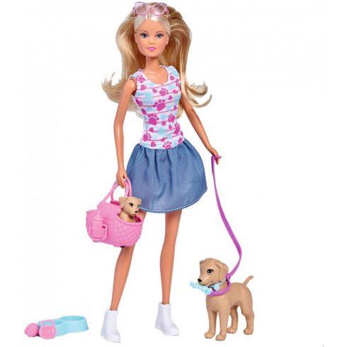 Simba Toys Steffi Love - Kutyasétáltatás (105733310)