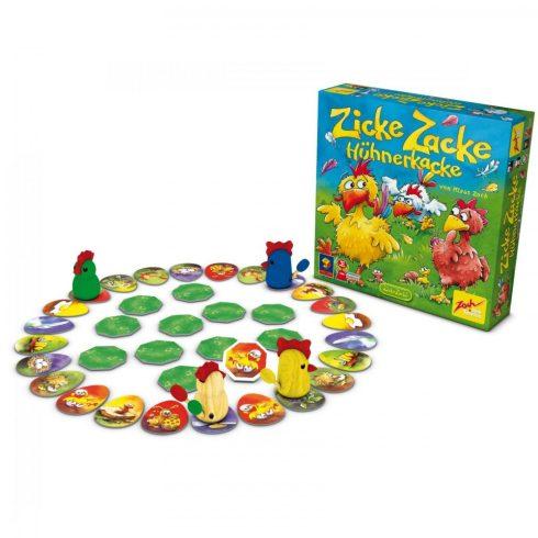 Zoch - Chicken cha cha cha - Csupa csupasz tyúkeszű társasjáték (601121800006)